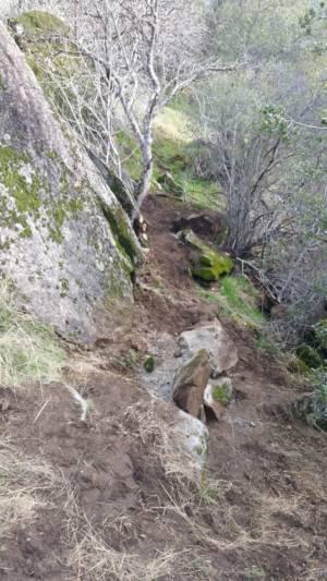 Rock Wall Below Cliff 3