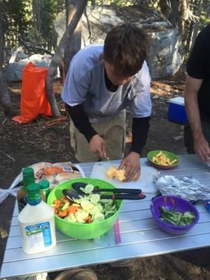 Prepping Dinner