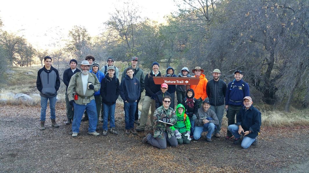 20151114 BLM SJRG Nature Trail BSA
