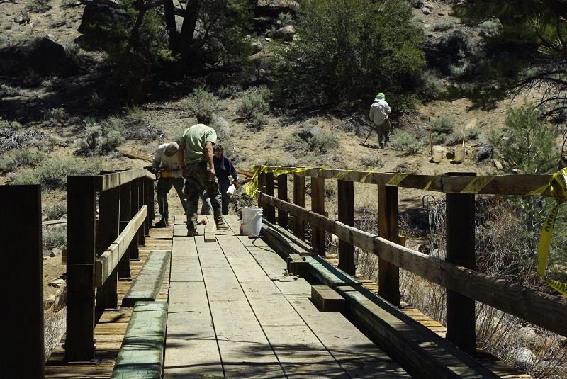 Kennedy Meadows Bridge Repair Peter 040