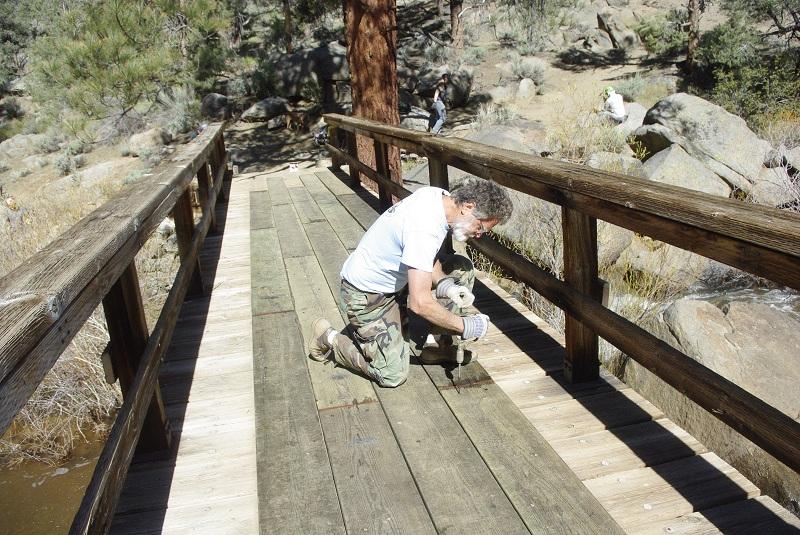 Kennedy Meadows Bridge Repair Peter Gooddell 086