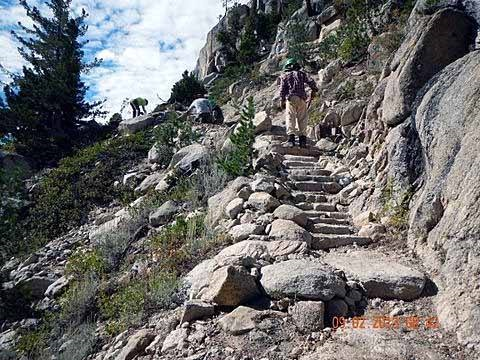 Silver Pass Steps