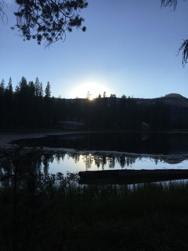 Z Cora Lake Sunset
