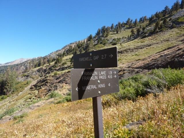 Farwell Gap Sign