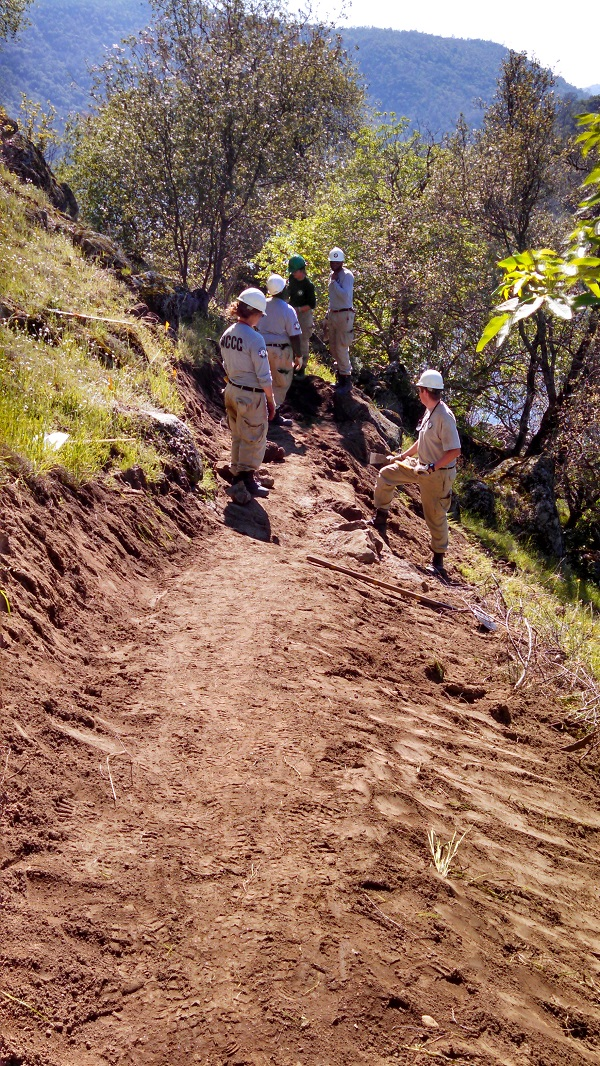 New Trail Being Constructed