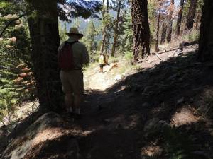 35\' Trail Errosion