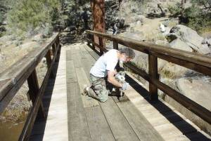 Kennedy Meadows Bridge Repair Peter Gooddell 086