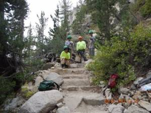 Silver Pass Steps W-people