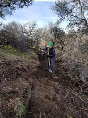 Vol On Trail Working